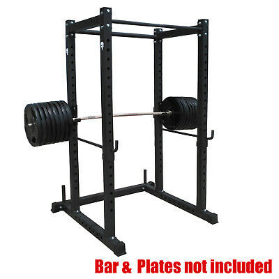Commercial Grade Power Rack  - Power Cage For Weight Bench Press - Squat Cage