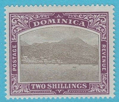 Dominica 32 Mint Hinged Og No Faults Extra Fine !