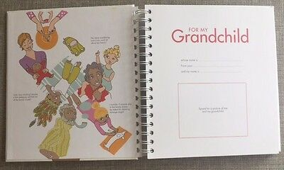 For My Grandchild Memory Album Fill & Tell Baby Record Journal Terese Oman Gift