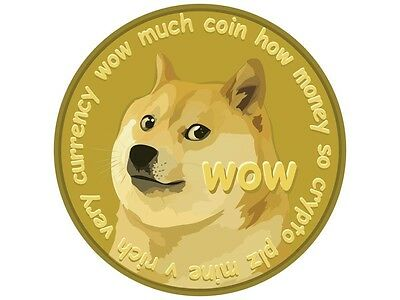 Dogecoin (Doge) 50000 (50K) Physical Dogecoin Paper Wallet via USPS (XZXDW62)