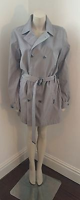 Light Grey Bench Trench Coat Size M 12