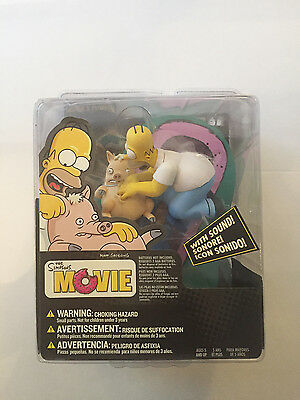 The Simpson's Movie: Homer & Plopper New mint in box