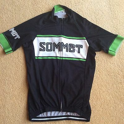 Sommet Cycling jersey top shirt Large. VGC. Like Rapha. RRP £90