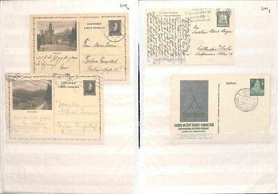 H99-German Third Reich Postal History- Mint & Used