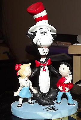 Dr Seuss Cat In The Hat Bobblehead Figurine Mib  Kids Party