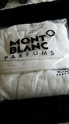 Mont Blanc towelling robe brand new unopened one size