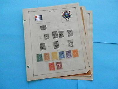 El Salvador Excellent Old Collection 1890-1940 On Page Dr Schultz Estate !!9214E