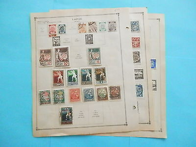 Latvia Old Collection 1918-1940 Extra Fine Dr Schultz Estate !!9157L