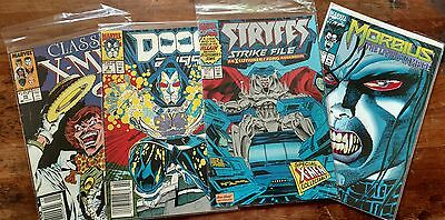 Lot of 4 late 80s/mid 90s Marvel Comics