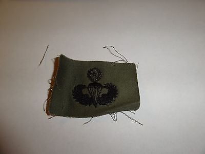 Us Military Sew On Patch Army Subdued Vietnam Era Jump Wings Master Parachutist