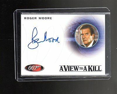 James Bond Archives Final Edition  A225 Roger Moore  Autographed card #2