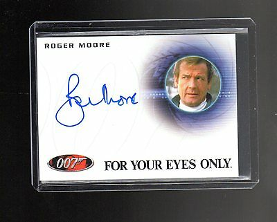 James Bond Archives Final Edition  A224 Roger Moore  Autographed card #2