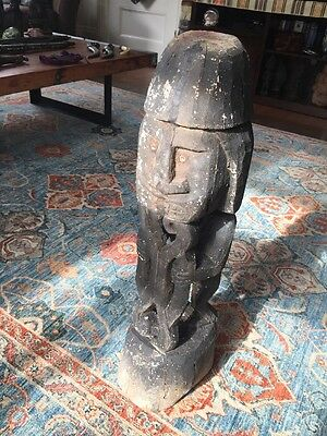 Biak Korwar Statue From Papua New Guinea - Early 1900's; Provenance