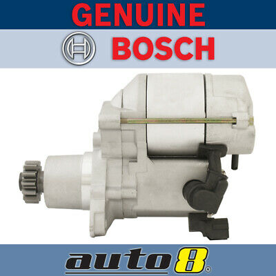 Genuine Bosch Starter Motor to fit Holden Apollo 2.0L 2.2L Petrol 1989 - 1997
