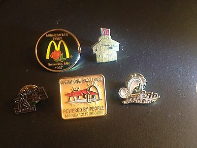 McDonald's Collector Pins Including New Orleans Riverboat