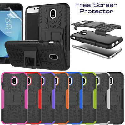 Shock Proof Armour Hybrid Stand Hard Back Case for Various Samsung Galaxy Models