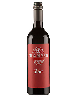 Glamper Shiraz case of 6 Dry Red Wine 750mL Riverland