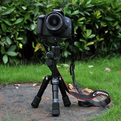 Foldable Mini Aluminium Tripod Stand Ball Head Table-Top Travel SLR DSLR Camera