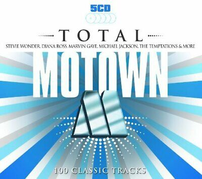 Various Artists - Total Motown - Various Artists CD 70VG The Cheap Fast Free The
