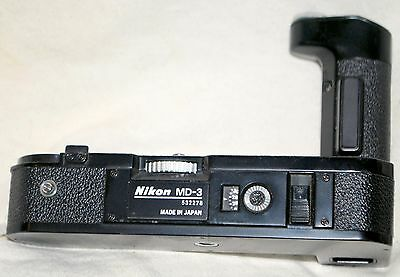 Nikon Md3 Motor Drive For F2 Film Camera Looks Great Untested