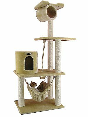 Armarkat Cat tree Furniture Condo Tower, Height- 60-Inch to 7