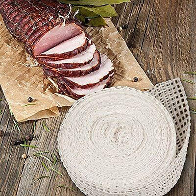 TSM Meat Netting Roll Size 12 Stretchable Netting Dry Cured Semi Sausages New