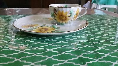 Classic Australia Fine China Tea cup and biscuit plate