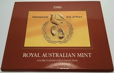 1986 RAM Mint Set Uncirculated Coin Collection