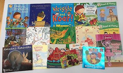 Bundle Job Lot 17 Children's Books, Noddy, Harry, Angelina, Animals, Letterland