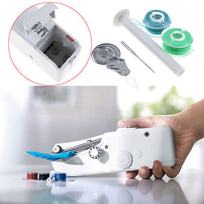 Hot Mini Portable Smart Electric Tailor Stitch Hand-held Sewing Machine Travel
