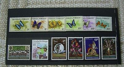 Trinidad And Tobago Mint Stamp Selection