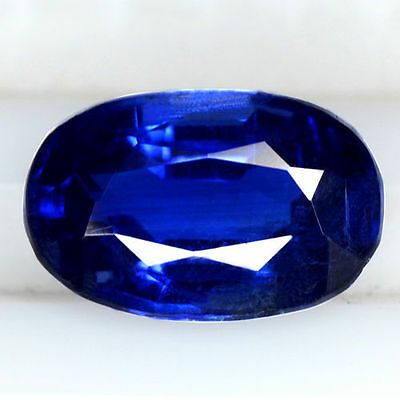 3.13 Cts Natural 11x7 mm Amazing Fine Oval Cut Gemstone Royal Blue Kyanite Nepal