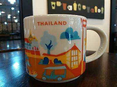 Starbucks   Thailand   You  Are  Here  Global Icon Collector  Mug 14 Oz  2017