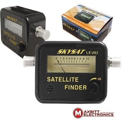 Sat Finder - Satellite Signal Tool - Camping, Self Install, Simple, Astra, SKY