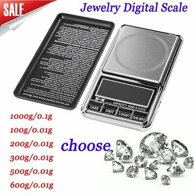 High Precision Measure LCD Digital Scale Jewelry Diamond Digital Weight Scale P$