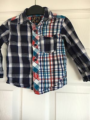 Boys Mothercare Shirt Age 12-18 Months