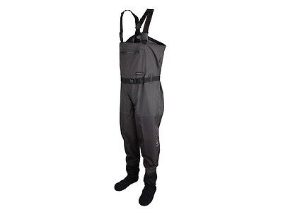 NEW 2017! Scierra X-16000 Stocking Foot Waders / Strumpf-Fuß Brust-Wathose