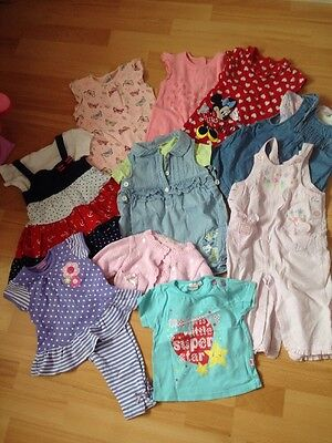 Girls Bundle Of 6-9 Month Summer Clothes