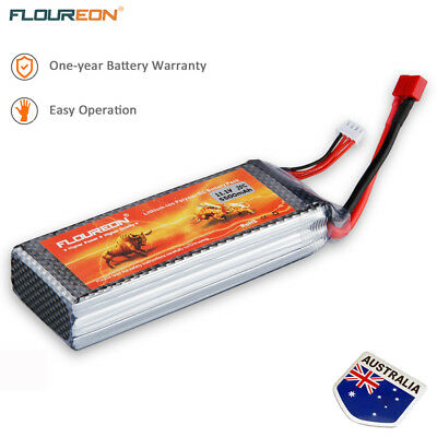 3S1P 11.1V 20C 5500mAh LiPo  Battery Deans for RC Airplane Helicopter Car Truck