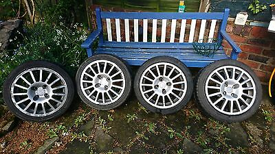 Set of 4 alloy wheels 16 inch with tyres
