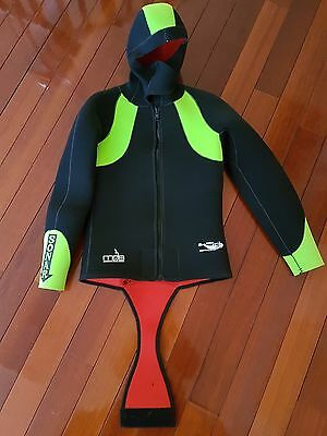 New unused men's Sonar jacket wetsuit dive snorkelling suit size 5