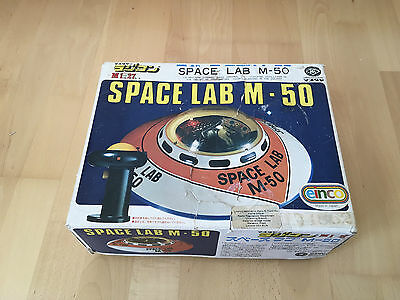 Modern Toys - Space Lab M-50 - 1973 - SPACE Toy JAPAN  VERY RARE OVP with BOX