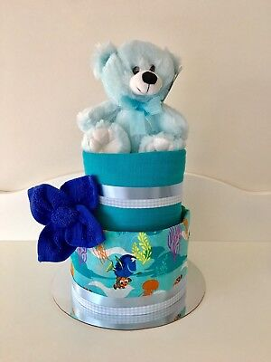 Nappy Cake Baby Neutral Unisex Melbourne Hamper Affordable Cheap