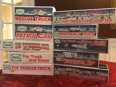 Hess Trucks 10 from the 1990's