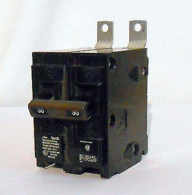 Siemens BL230 2-Pole, 30Amp, Type BL Circuit Breaker Used Guaranteed to work