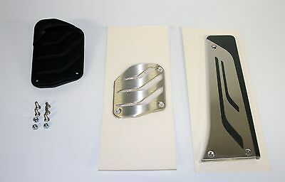 BMW M Performance Stainless Steel Pedal Covers Automatic 35002232278 F30 F10 F12