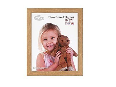 Inov8 10 x 8-Inch British Made Picture/Photo Frame, Pack of 4, Lime Oak