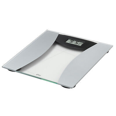 Weight Watchers 8949U Ultra Slim Glass Precision Electronic Bathroom Scale