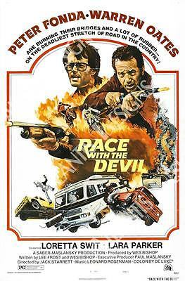 Race with the Devil Movie Poster Fridge Magnet 2 x 3