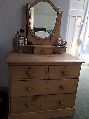 Pine Antique Dressing Table